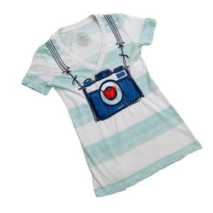 Fossil Camera Short Sleeve Tee XS